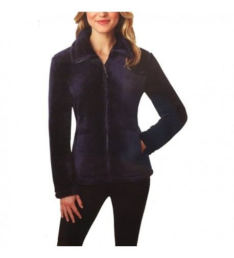 32 Degrees Womens Jacket Eggplant