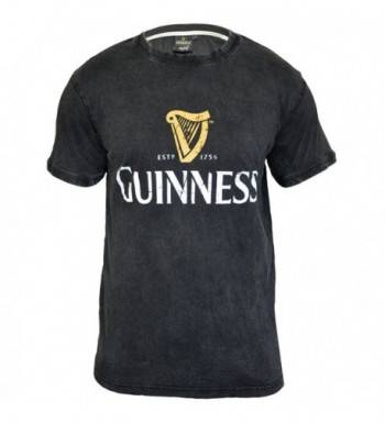Guinness Distressed Trademark T Shirt Medium
