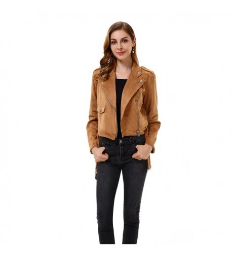 Apperloth Womens Sleeve Zipper Jacket