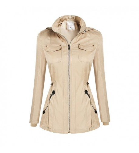 Flyerstoy Womens Military Anorak Pockets