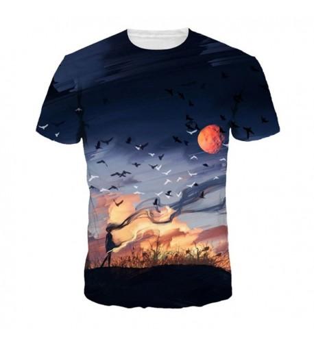 Unisex Summer Shirts Fitting Sleeve