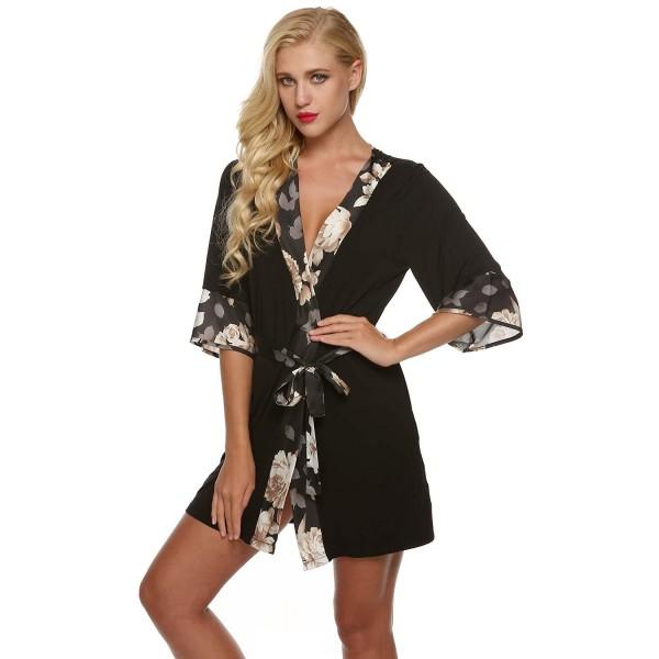 397a4a6adc Ekouaer Sleepwear Kimono Loungwear Nightwear. . Ekouaer Sleepwear Kimono  Loungwear Nightwear. Discount Women s Robes