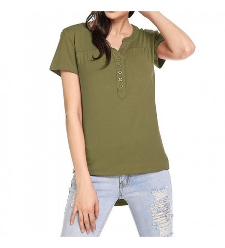Naggoo Womens Henley Sleeve Fitting