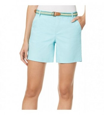 Gloria Vanderbilt Featherweight Stretch Shorts