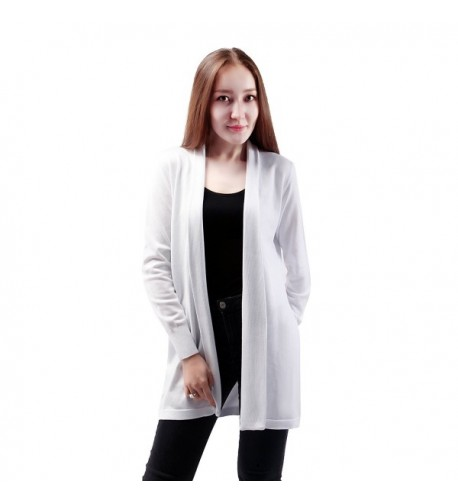Womens Fashion Sleeves Cardigan Sweater