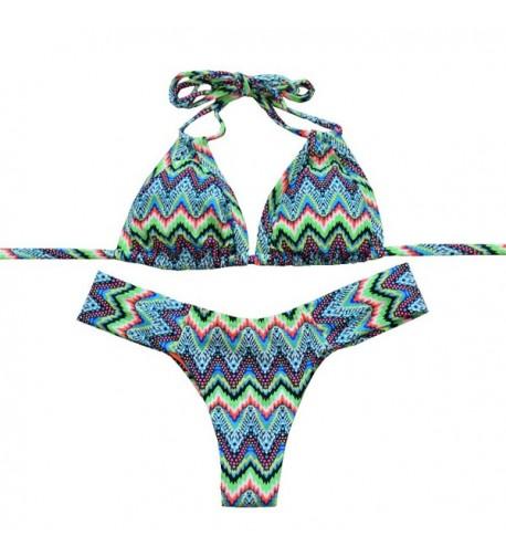 Sherry007 Womens Brazilian Swimsuits 279green
