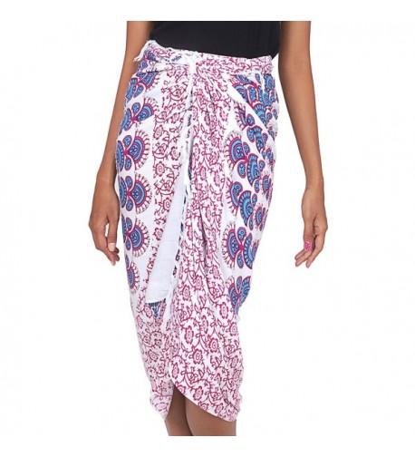 NOVICA Purple Sarong Swimsuit Sunshine