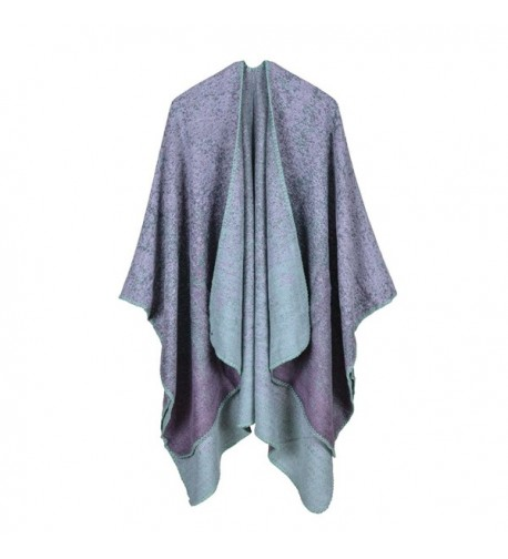 VamJump Womens Gradient Colors Cardigan