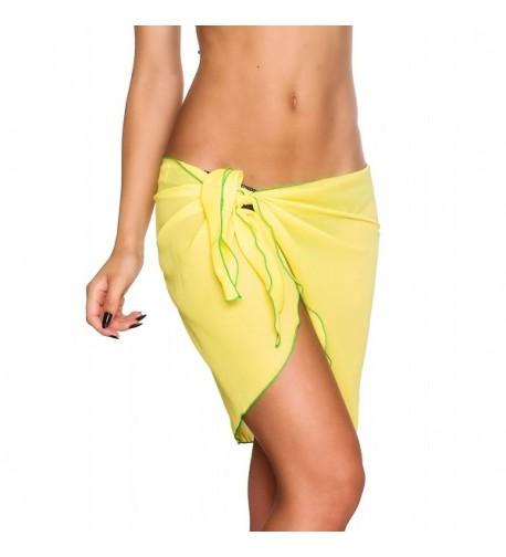Coqueta Swimwear Chiffon Sarong Swimsuit