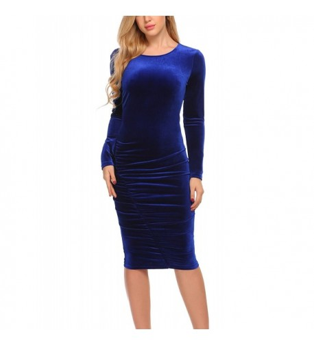Elesol Fashion Sleeve Ruched Bodycon