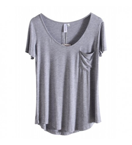 iClosam Womens Casual Sleeve T Shirts