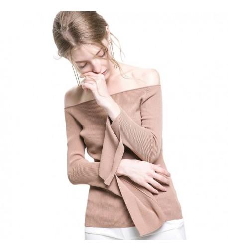 Bilili Womens Sleeve Shoulder Camel