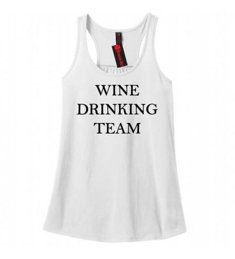 Comical Shirt Ladies Drinking White
