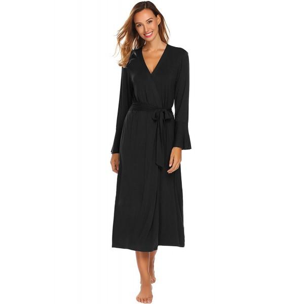 Ekouaer Womens Comfort Nightwear Stretchy