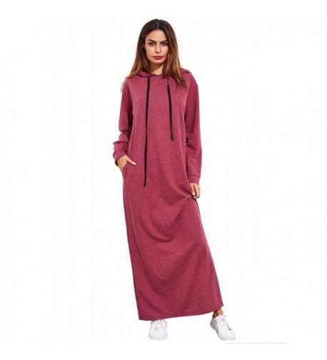 Floerns Womens Casual Pullover Sweatshirt