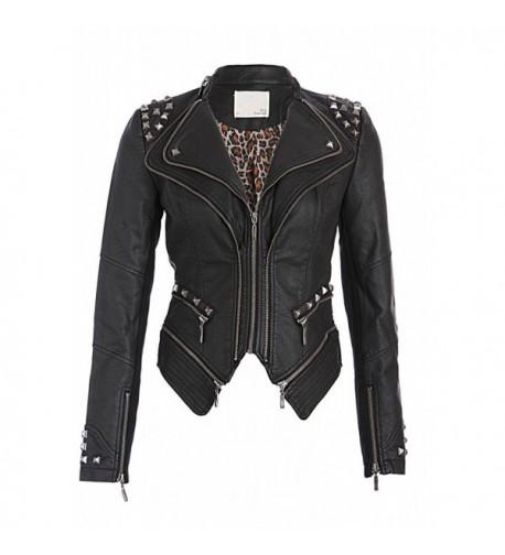 Rocking Black Studded Leather Jacket