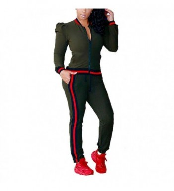 ENWEI Womens Tracksuits Outfits Sweatsuits