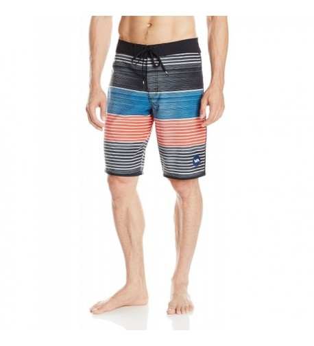 RVCA Sunday Stripe Trunks Indigo