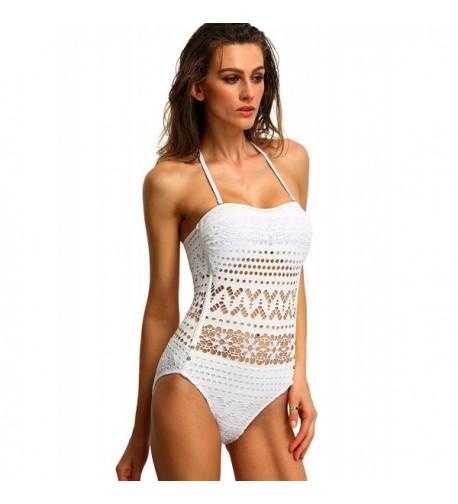 SweatyRocks Bathing Swimsuit One Piece Swimwear