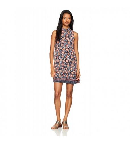 Angie Womens Mock Dress Small