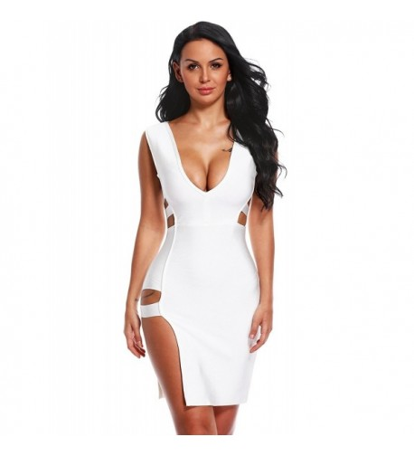 Hego Womens Sleeveless Bandage Dress