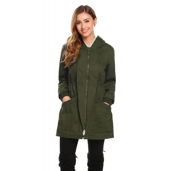 Anhoney Womens Winter Thicken Outwear