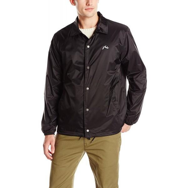 Rusty Coaches Jacket Black Large