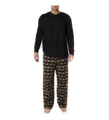 Mens 2pc Long Sleeve Pajama