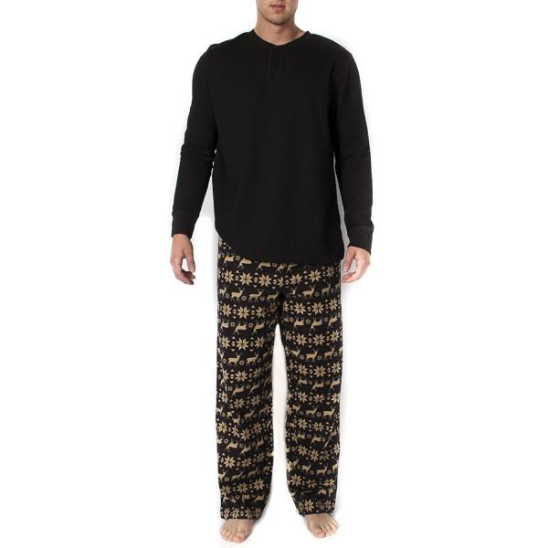 Mens 2pc Long Sleeve Pajama