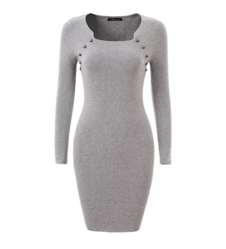 GLOSTORY Womens Casual Sweater Bodycon