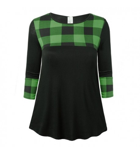 Evelie Womens Layered 3X Large GreenCheck