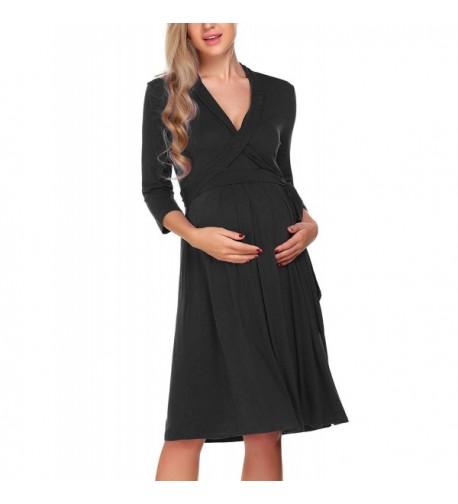 Miuniu Womens Maternity Sleeve Length
