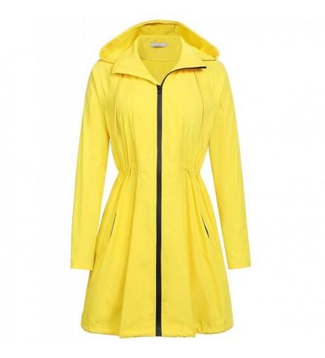 ELESOL Lightweight Waterproof Outdoor Raincoat