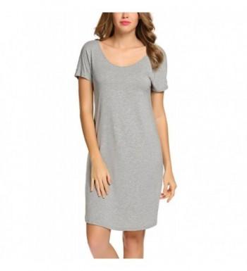 Goldenfox Loungewear Comfortable Homewear Nightgown