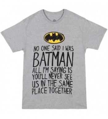 Batman One Said T Shirt Small
