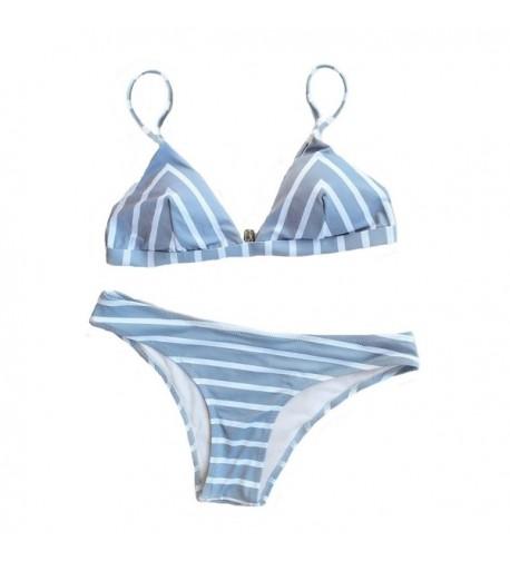 Seaselfie Womens Swimsuit Triangle Swimwear
