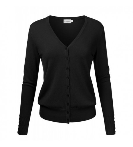 JJ Perfection Womens Cardigan Sweater