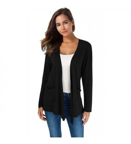 Womens Sleeved Breathable Cardigan Sweater