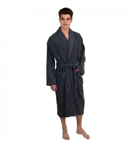 TowelSelections Turkish Bathrobe X Large Charcoal