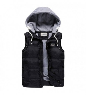 MAGE MALE Removable Quilted Sleeveless