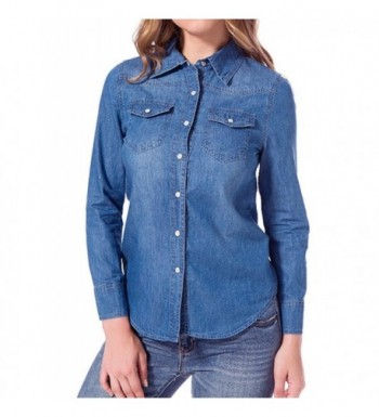 Cheap Real Women's Button-Down Shirts for Sale