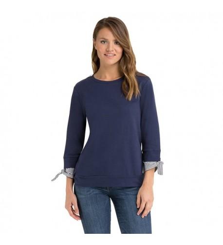 Como Blu French Sweatshirt Sleeve