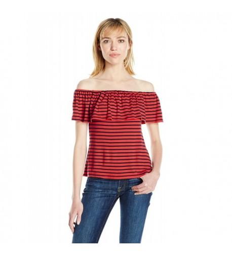 Splendid Womens Venice Stripe Shoulder