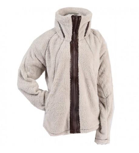 Apparel Womens Sherpa Fleece Oatmeal