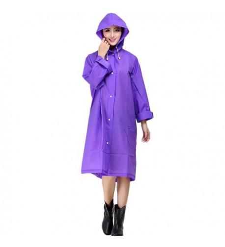 XIUWU Womens Packable Cycling Raincoat