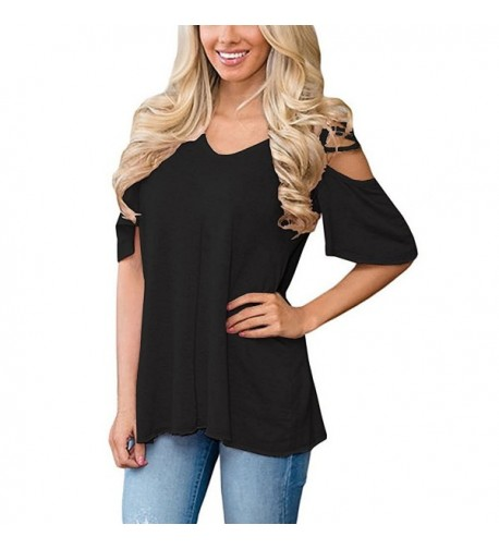 OURS Casual Sleeve Shoulder Blouse