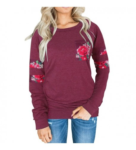 ChongXiao Womens Sleeve Crewneck Sweatshirt