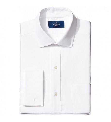 Buttoned Down Classic Spread Collar Non Iron