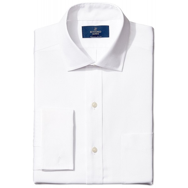 Buttoned Down Classic Spread Collar Non Iron