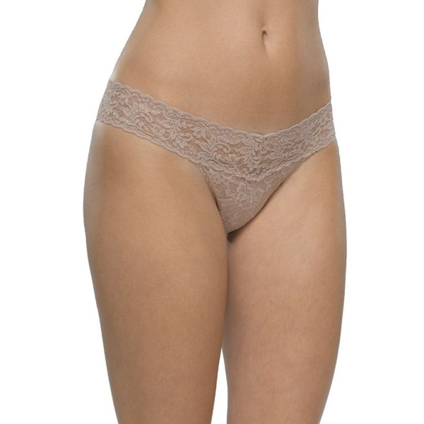 6de16a9b4c0b ... One Size Petite Size Low Rise Thong Taupe - C911GVW3DD9. Hanky Panky Petite  Thong Taupe